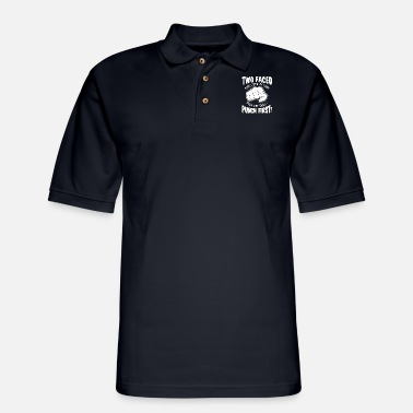 Punch Punch punch fist - Men's Pique Polo Shirt