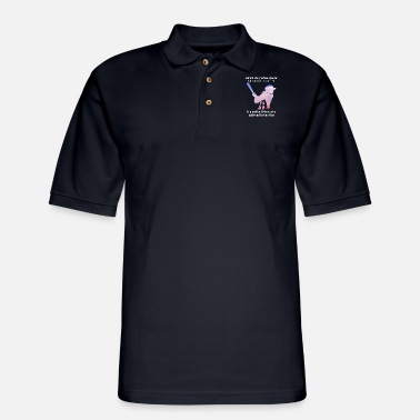 behind every softball phay who believes in herself - Men's Pique Polo Shirt