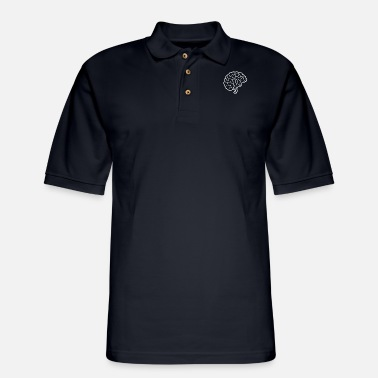 Brain Brain Brain - Men's Pique Polo Shirt