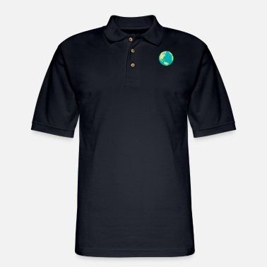 Climate Change climate protection - Men's Pique Polo Shirt