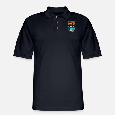 Game Esports Computer Game Retro - Men's Pique Polo Shirt
