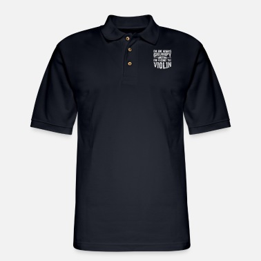 Violin Violin Violin - Men's Pique Polo Shirt