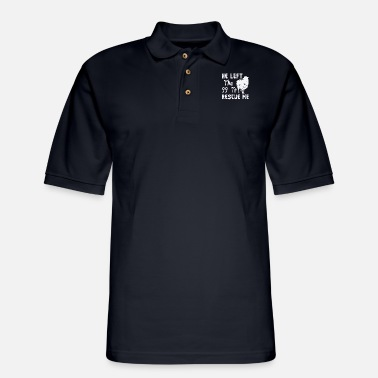 Hor He Left The 99 - Men's Pique Polo Shirt