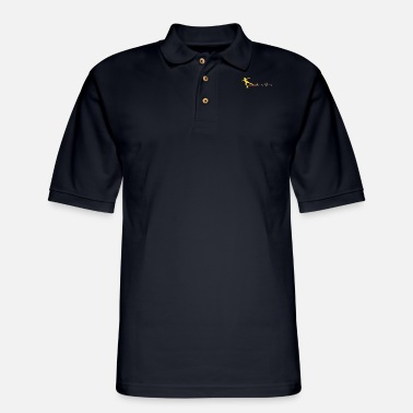 Cold Figure Skating Hobby - Men's Pique Polo Shirt