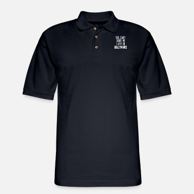 City You Can't Scare Me I Live In Hollywood - Men's Pique Polo Shirt