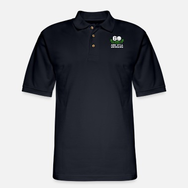 Funny Golf 60 Years Golfer 60th Birthday Swinging Golf Player - Men's Pique Polo Shirt