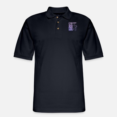 Dressage If you don't believe they have souls you haven't l - Men's Pique Polo Shirt