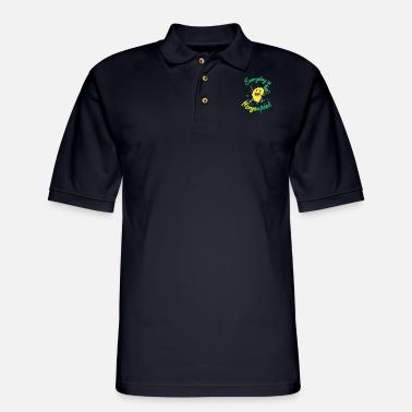 Moon Mangonificent Food And Mango Lover Gift - Men's Pique Polo Shirt
