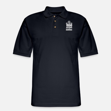 December December 1960 58 years of being awesome - Men's Pique Polo Shirt
