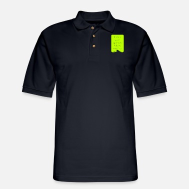 Cake I am a cake operator. Ask me anything. - Men's Pique Polo Shirt
