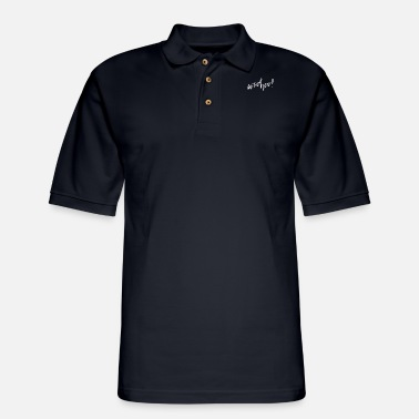 Post Happy Post - Men's Pique Polo Shirt