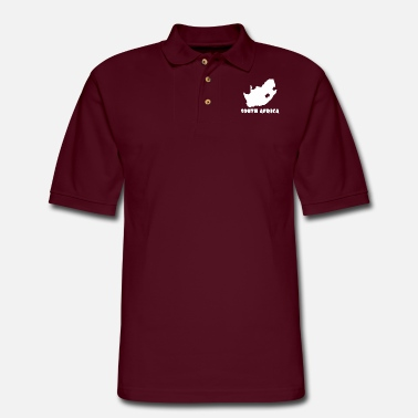 Africa South Africa - Men's Pique Polo Shirt