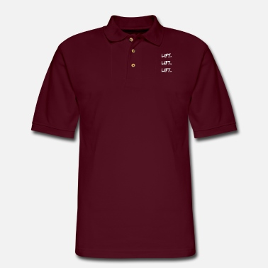 Lifting lift lift lift - Men's Pique Polo Shirt