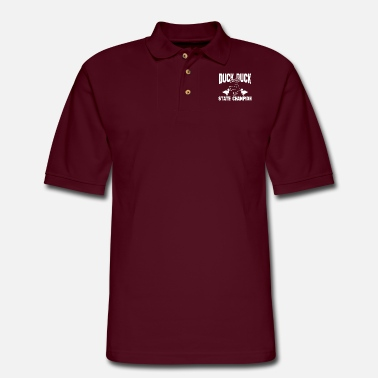 Duck DUCK DUCK - Men's Pique Polo Shirt