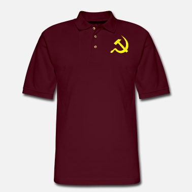 Soviet Russia Soviet Union UDSSR gift Russians - Men's Pique Polo Shirt