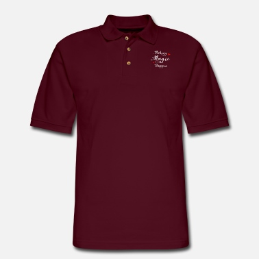 Magic Making Magic Happen - Men's Pique Polo Shirt