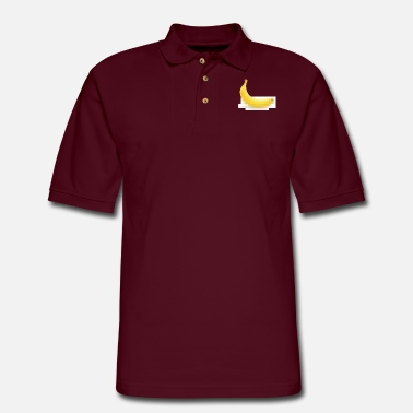 Sport Censored Banane Kopie - Men's Pique Polo Shirt