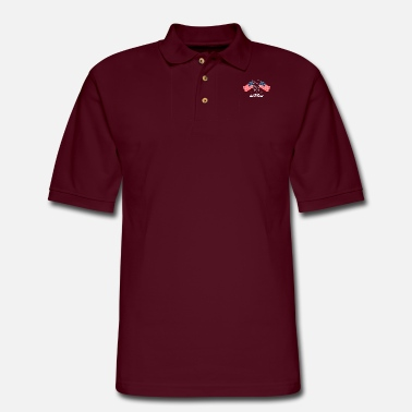 Respect Freedom - Independence Day - 4th Of July - Men's Pique Polo Shirt
