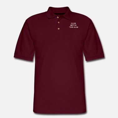 Milf MILF - Men's Pique Polo Shirt