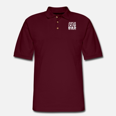 Step Dad I'm Not The Step Dad I'm The Dad That Stepped Up - Men's Pique Polo Shirt