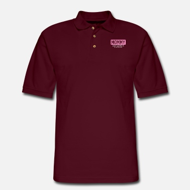 Granny Mommy Just Love It - Men's Pique Polo Shirt
