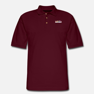 The Bisexual Agenda - Men's Pique Polo Shirt