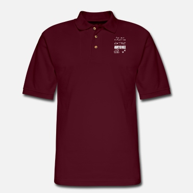 Anonyous if you cant trust your dog dont trust anonye - Men's Pique Polo Shirt
