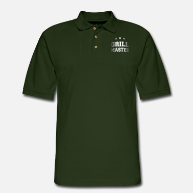 Grillmaster Grillmaster - Men's Pique Polo Shirt