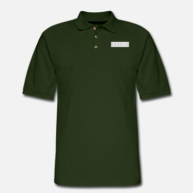 Squat SQUATS - Men's Pique Polo Shirt