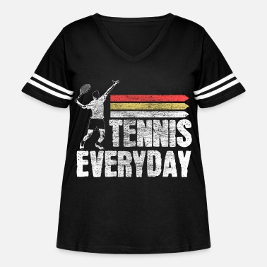 Game Over Tennis tennis player fitness Gift - Women's Curvy Vintage Sport T-Shirt