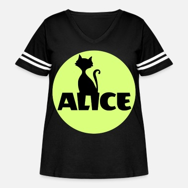 Name Day Alice First name Name Personal gift Name day - Women's Curvy Vintage Sport T-Shirt