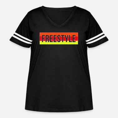 Freestyle Freestyle - Women's Curvy Vintage Sport T-Shirt