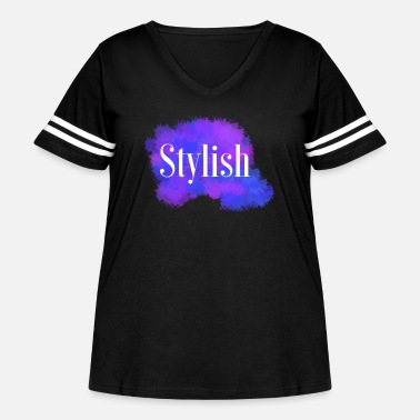 Stylish stylish - Women's Curvy Vintage Sport T-Shirt