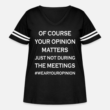 Office Humor Coworker and Officer Humor - Women's Curvy Vintage Sport T-Shirt