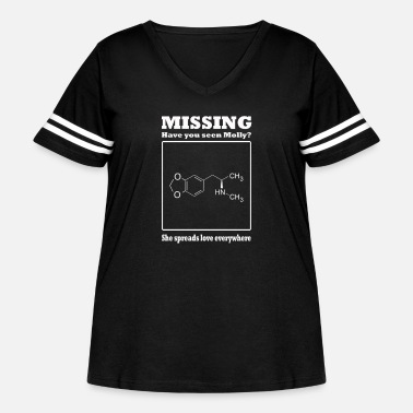 DOPAMINE MOLECULE T-shirt science chemistry dopamine molly ecstasy unisex ladies