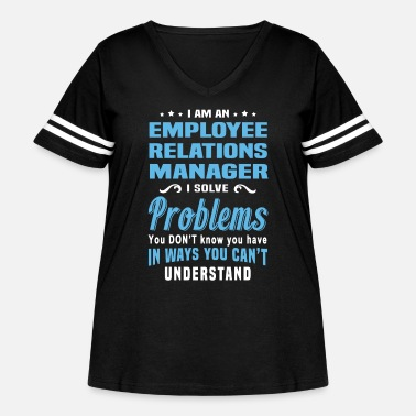 Relations Employee Relations Manager - Women's Curvy Vintage Sport T-Shirt