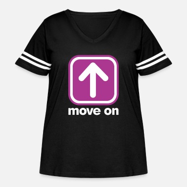 Move MOVE ON MOVE ON - Women's Curvy Vintage Sport T-Shirt