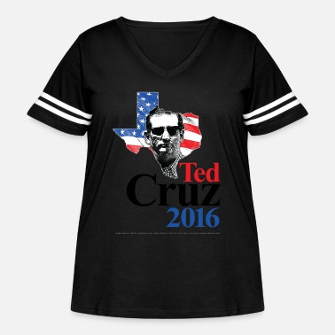 Ted Cruz Ted Cruz 2016 American Swagger (on light) - Women's Curvy Vintage Sport T-Shirt