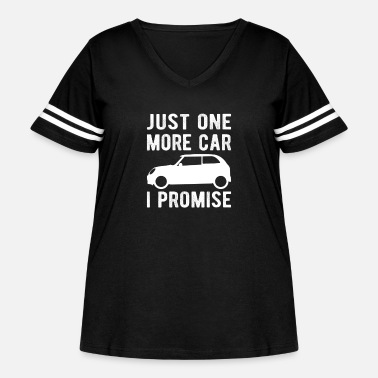 Search CAR ENTHUSIAST : Just One More Car I Promise - Women's Curvy Vintage Sport T-Shirt