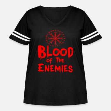 Blood of the Enemies - Women's Curvy Vintage Sport T-Shirt