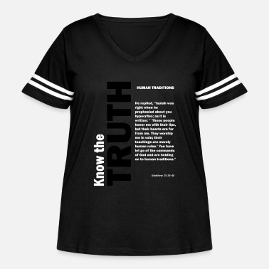 Tradition Human traditions - Women's Curvy Vintage Sport T-Shirt
