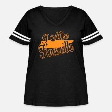 Knoxville Knoxville - i miss knoxville - Women's Curvy Vintage Sport T-Shirt