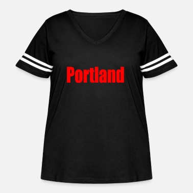 Port port land - Women's Curvy Vintage Sport T-Shirt