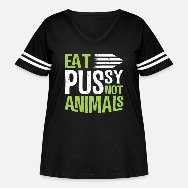 Meat Vegetarian Eat Veggies Not Meat Funny Gift - Women's Curvy Vintage Sport T-Shirt