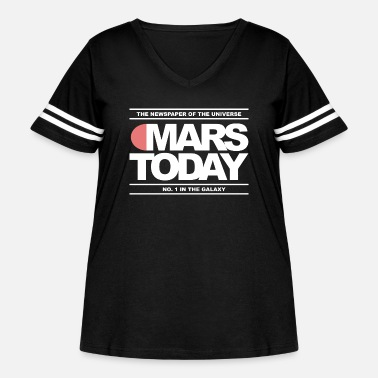 Total Mars Today - Total Recall - Women's Curvy Vintage Sport T-Shirt