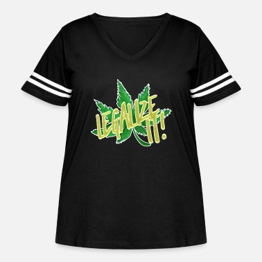 Tosh Legalize It - Women's Curvy Vintage Sport T-Shirt