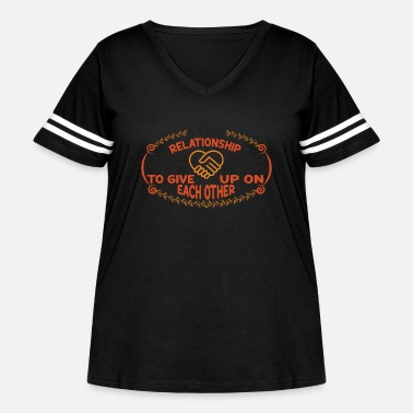 Africa A TRUE REL ATIONSHIP IS TWO UNPERFECT PEOPLE - Women's Curvy Vintage Sport T-Shirt