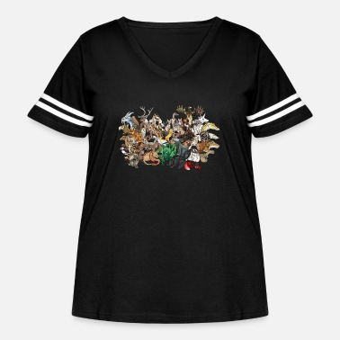 Group the group - Women's Curvy Vintage Sport T-Shirt