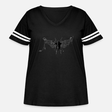 Insect insect - Women's Curvy Vintage Sport T-Shirt