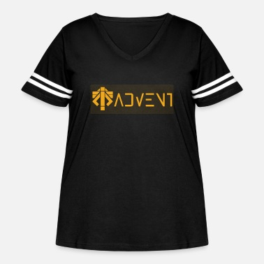 Advent advent coalition - Women's Curvy Vintage Sport T-Shirt